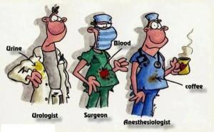 urolog kirurg anesteziolog